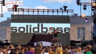 Solid Base You Never Know Live We Love The 90 S Helsinki Finland 27 08 2016