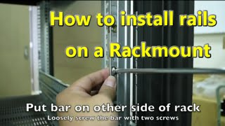 How to fit and install 19 rails to your rackmount - a step by step guide