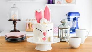 torta de conejo con sorpresa para pascuas 🥕tan dulce