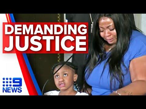 Mother Of George Floyd's Child Demands Justice   9 News Australia