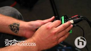 Brett Manning tries the VoiceTone D1 for the first time!