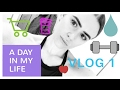 A Day In My Life VLOG 1-Gym,shopping,VEGAN food | Janice Eadie