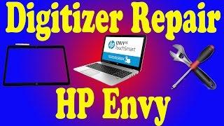 HP Envy TouchSmart 15 Digitizer Front Glass Repair
