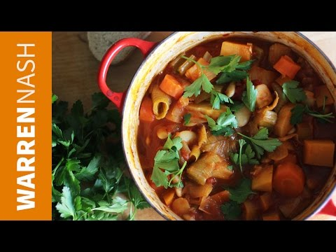 How to make Vegetable Casserole Stew Winter Warmer Recipes by Warren Nash