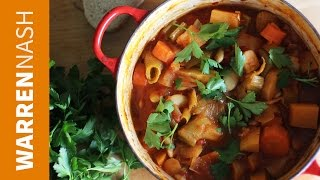 How to make Vegetable Casserole Stew - Winter Warmer - Recipes by Warren Nash