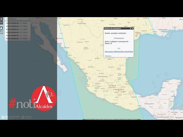 Noti Alcaldes: Lanzan nuevo directorio virtual de protección civil en municipios