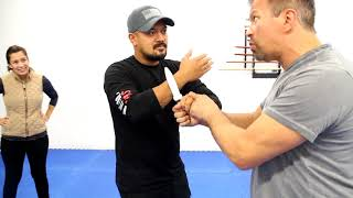 Knife Disarms with Ron Balicki & Diana Inosanto   Many Lessons, One Takeaway!
