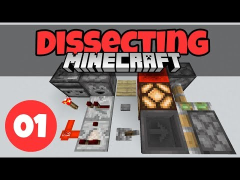 Dissecting Minecraft #1: Basic Redstone Components