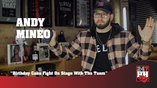 Andy Mineo - Birthday Cake Fight On Stage With The Team (247HH Wild Tour Stories)
