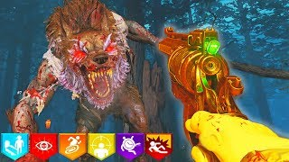 """ZOMBIES """"DEAD OF THE NIGHT"""" FULL SOLO EASTER EGG // BLACK OPS 4 ZOMBIES"""
