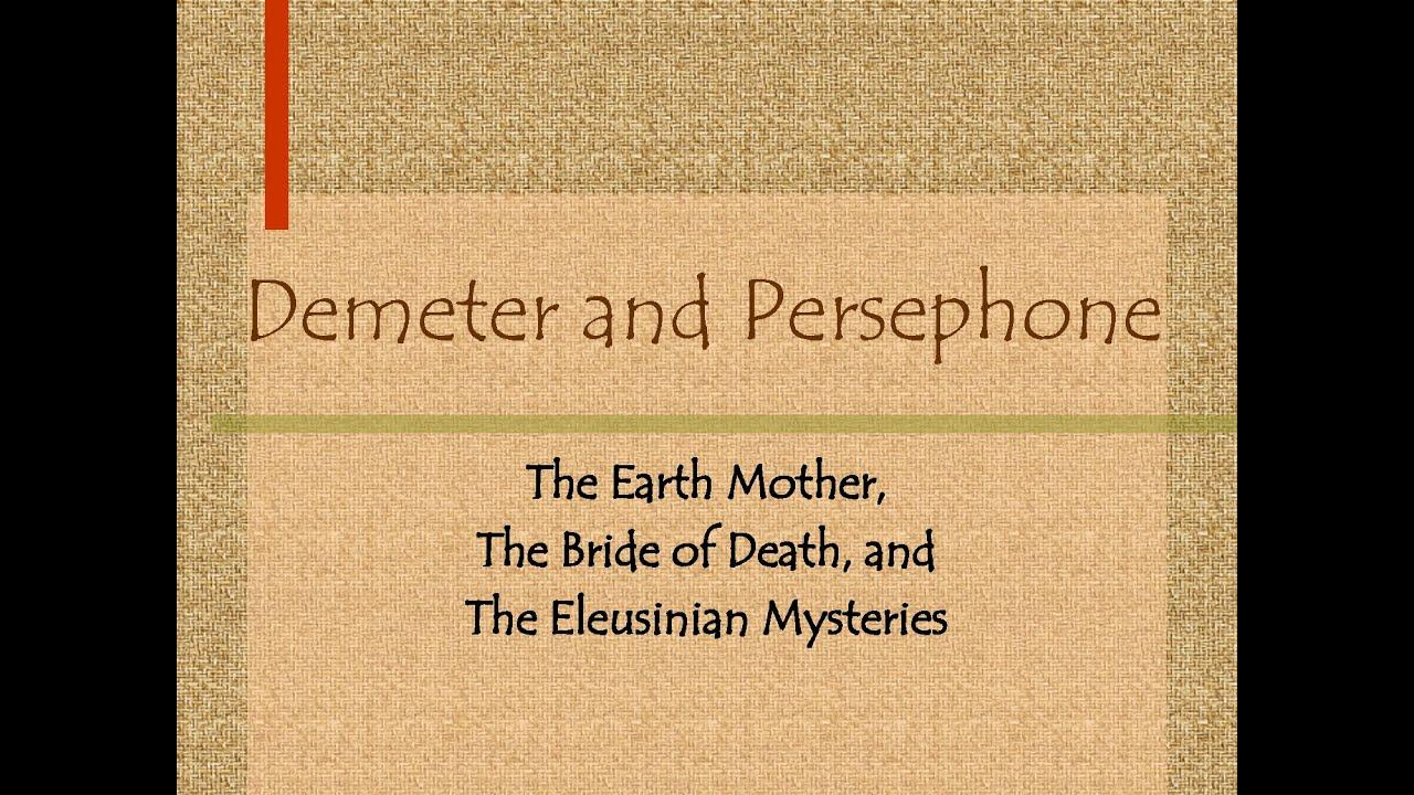 Download Demter and Persephone