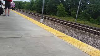 MBTA HSP-46 #2036 Arriving At Wickford Junction!