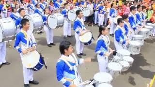 Aloysius TOP DBC vs Bahana Swara Garuda - Battle Percussion SIMBC 2016