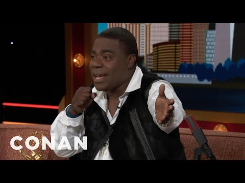 When Tracy Morgan Bombed At The Apollo  - CONAN on TBS