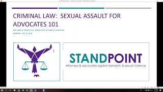 Criminal Law  SA for Advocates 101