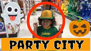 Party City Halloween Costumes and Halloween Decorations