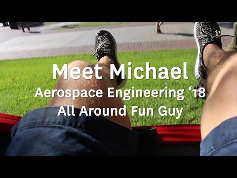 Meet the Students: Michael, Aerospace Engineering