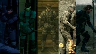 Metal Gear Solid V VS Metal Gear Solid Saga | EVOLUCION GRAFICA