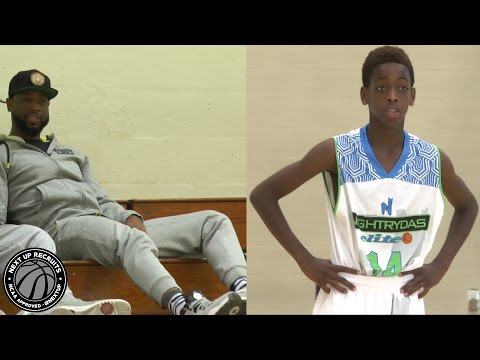 "Zaire Wade is the future ""Flash"" - Dwyane Wade's son is NextUp in Miami"