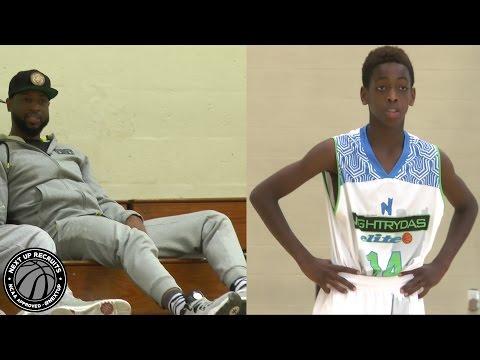 """Zaire Wade is the future """"Flash"""" - Dwyane Wade"""
