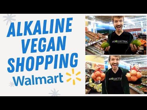 Alkaline Vegan Grocery shopping at Walmart for Dr Sebi bio electric foods