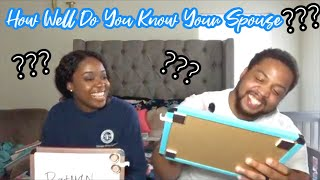 How Well Do You Know Your Spouse Challenge!!! // Get To Know Us // The Giles Family Vlog