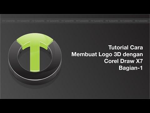 Di video kali ini saya akan memberi Tutorail Cara Membuat B Logo 3D dengan Corel Draw X7, apabila .
