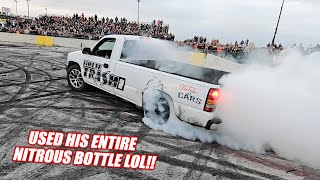 Our First Ever BURNOUT RIVALS Competition! James, Coop, JH, and More BATTLE For the Belt!!