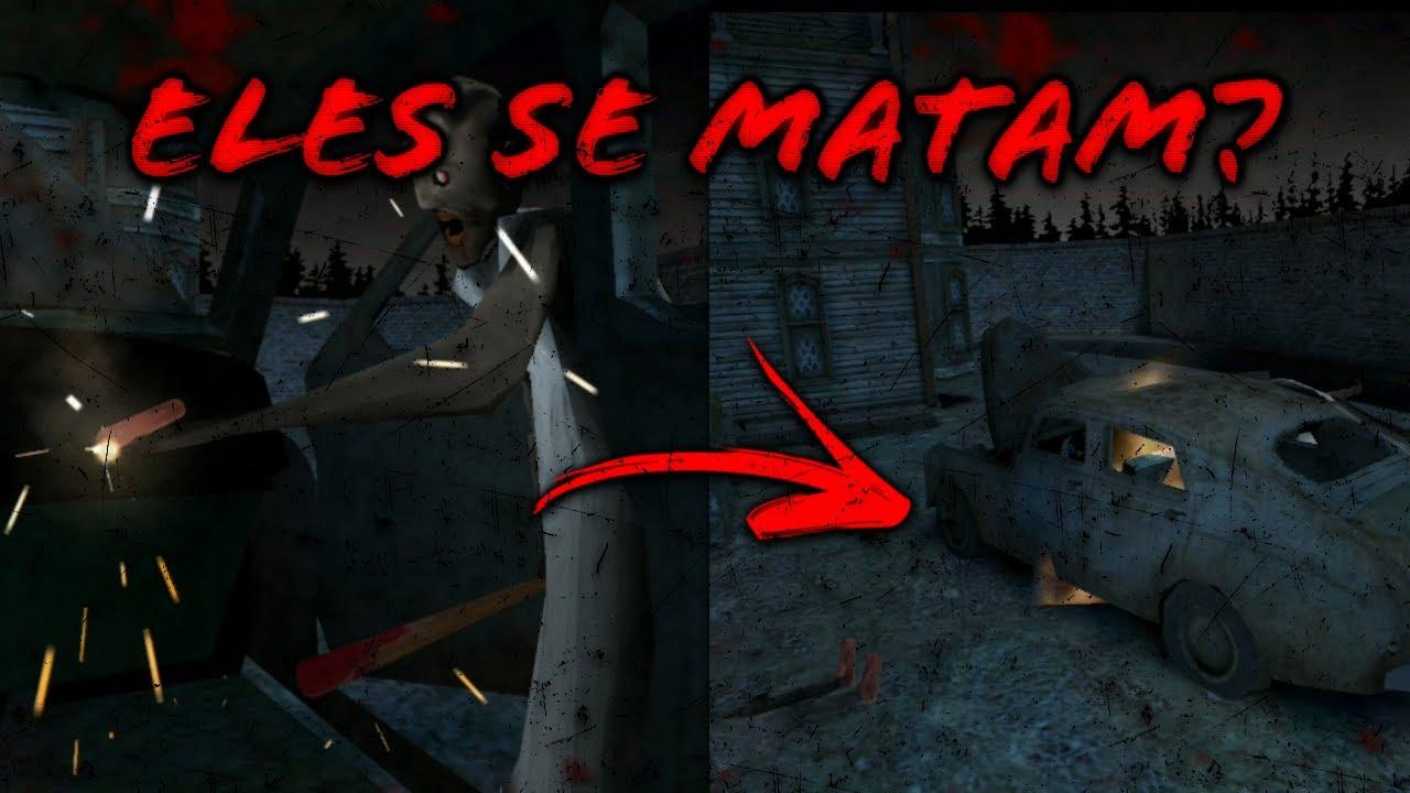 GRANNY 3   MORTES DE GAME OVER - BIZARRO!