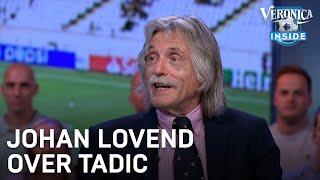 Johan Derksen te spreken over Tadic: 'Hij is de ultieme prof'