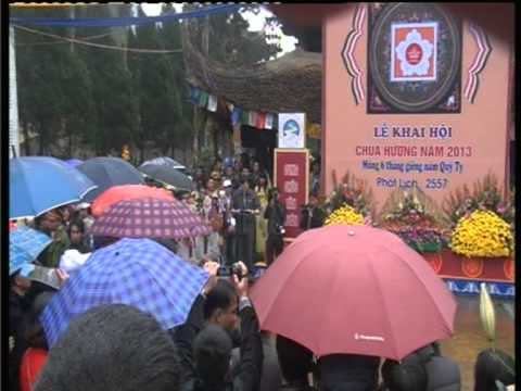 Nguyễn Xuân Lượng Khai Mạc Lễ Hội Chùa Hương 6 1 2013 Đợt 1
