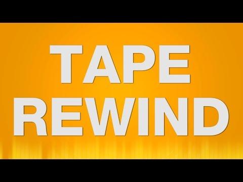 Tape Rewind SOUND EFFECT - Cassette Tape zurückspul effekt SOUNDS