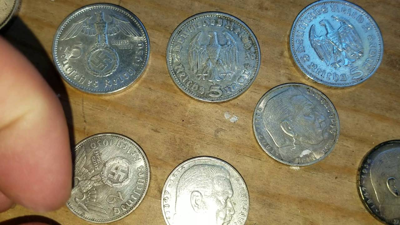 Wwii German Nazi Coins What Are They And What Are They Worth Youtube
