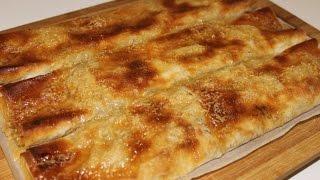 Kako napraviti pitu sa jabukama - recept za pitu - How to make an Apple pie typical from Balkans