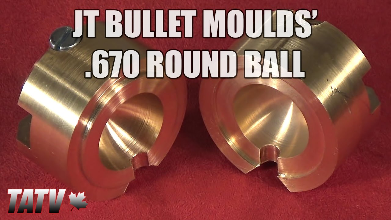JT Bullet Moulds'  670 Round Ball Mold