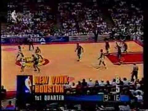 1994 NBA Finals gm 2: Knicks vs Rockets part 1