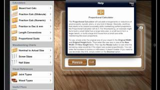 Woodmaster Woodworking App For The Ipad And Iphone