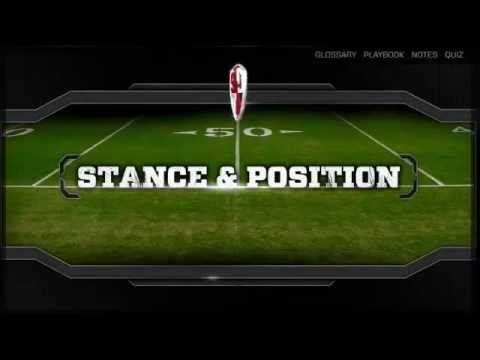 How To Be A Good Wide Receiver by Larry Fitzgerald  Part 1 Stance  Position