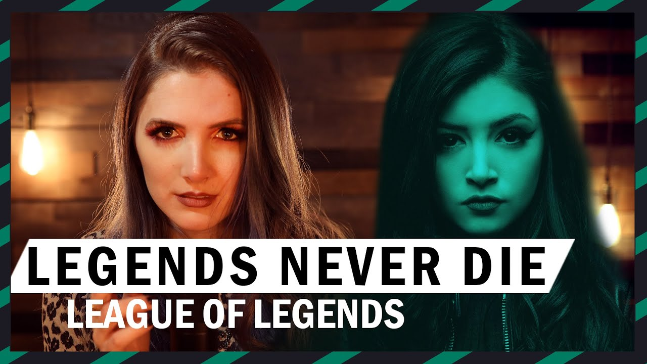 Legends Never Die / Against The Current - Cover by Halocene
