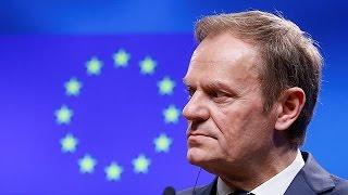 Лидеры ЕС намерены переизбрать Туска главой Евросовета