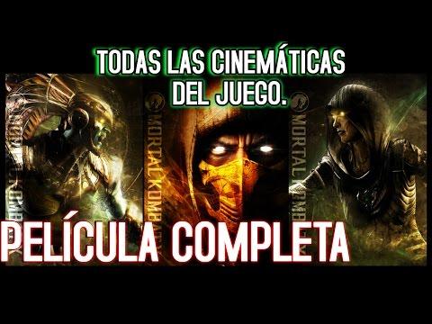 Mortal Kombat X  Pelicula Completa  TODAS LAS CINEMÁTiCAS DEL JUEGO  Español Latino HD 60 FPS