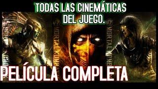 Mortal Kombat X | Pelicula Completa | TODAS LAS CINEMÁTiCAS DEL JUEGO | Español Latino HD 60 FPS
