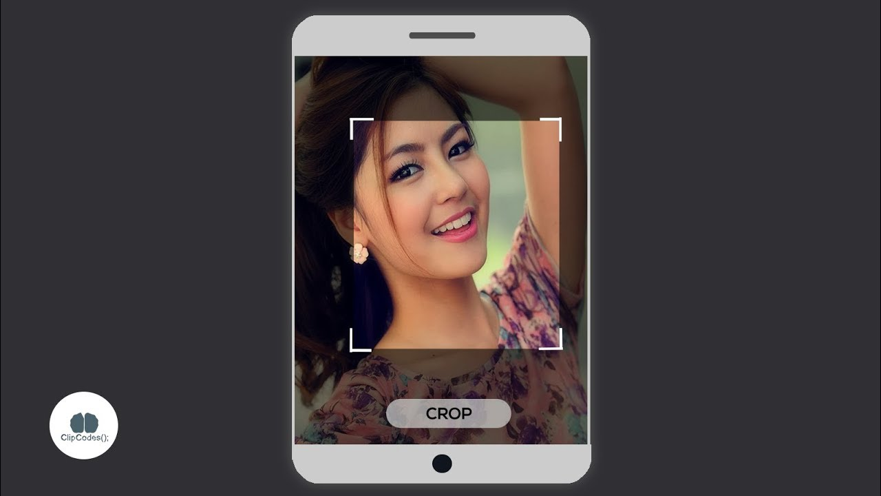 Pick Photos From Gallery and Crop Image Android Studio Tutorials