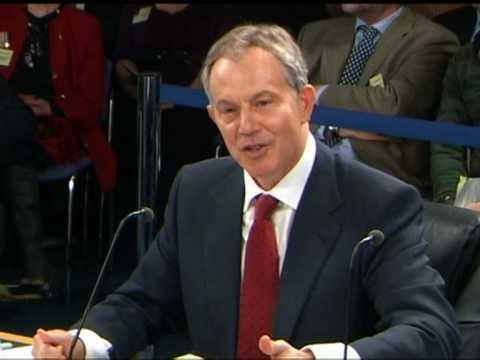 Regime change not motivation for war: Blair