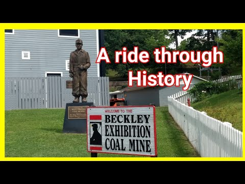 The Beckley Exhibition Coal Mine And Campground. Exploring WV #rvlife