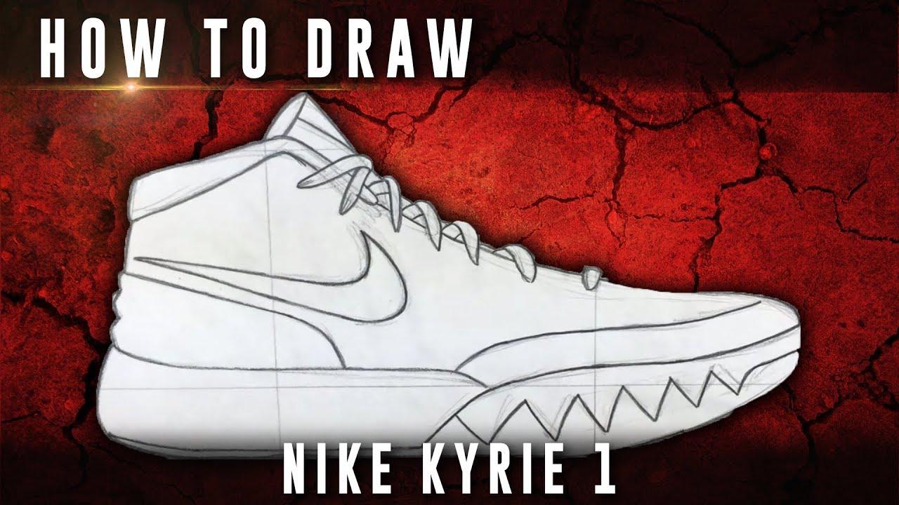 How To Draw: Nike Kyrie 1