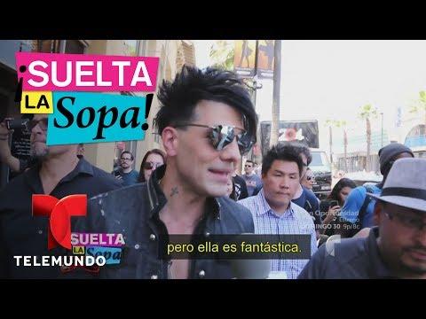 Criss Ángel develó su estrella en Hollywood sin Belinda   Suelta La Sopa   Entretenimiento