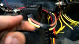 Bronco project pt5: 3g alt conversion and remote battery wiring