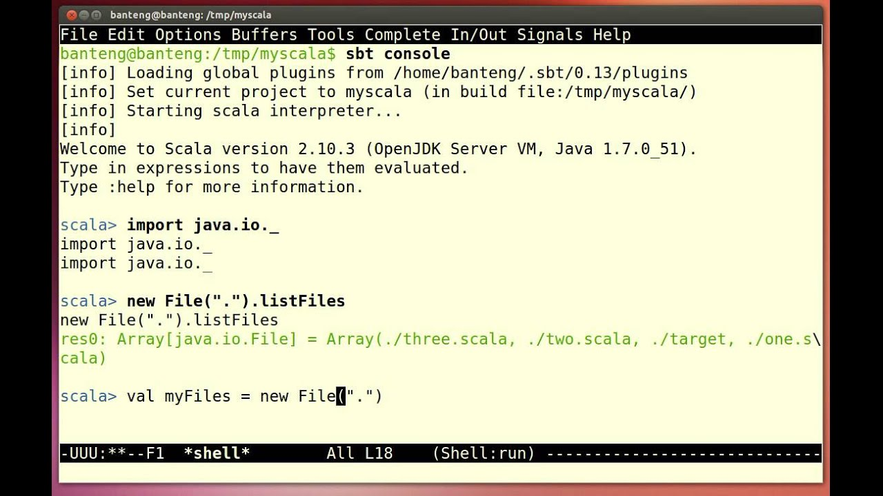 Java set tutorial images any tutorial examples java io file tutorial image collections any tutorial examples scala tutorial directory list youtube scala tutorial baditri Image collections