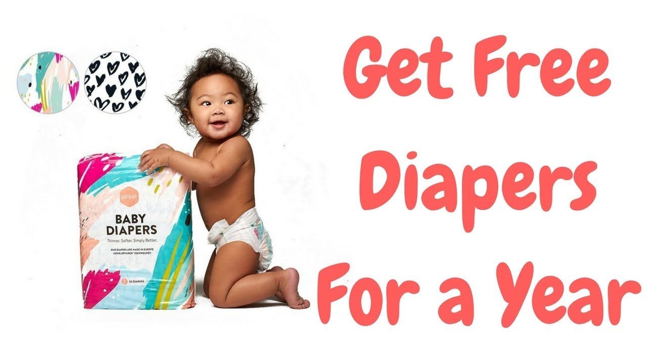 bf986b515 How To Get Free Diapers For A Year - Baby Gifts - YouTube